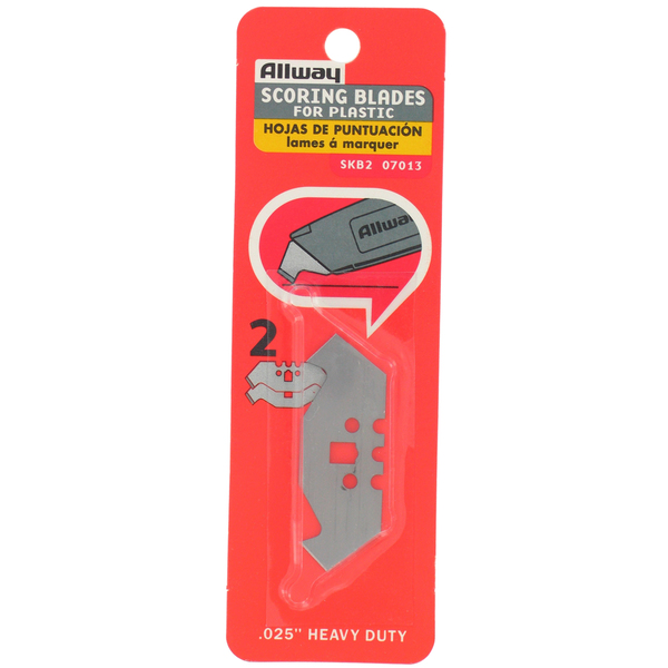 Allway Tools SKB2 2-count 3 Notch Scoring Blade