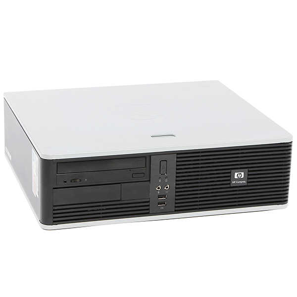 HP 5700 Desktop PC Dual Core Processor 4GB Ram 80GB Hard Drive DVD with Windows 10-Refurbished Computer