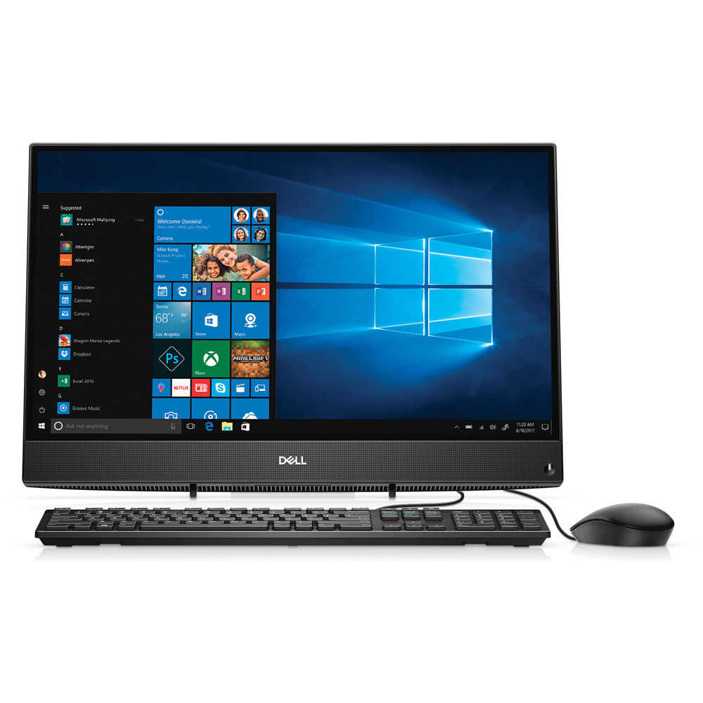 Dell Inspiron 24 3000 24-3475 All-in-One Computer - AMD A-Series (7th Gen) A9-9425 3100MHz - 8GB DDR4 SDRAM - 1TB HDD - Windows 10 Home