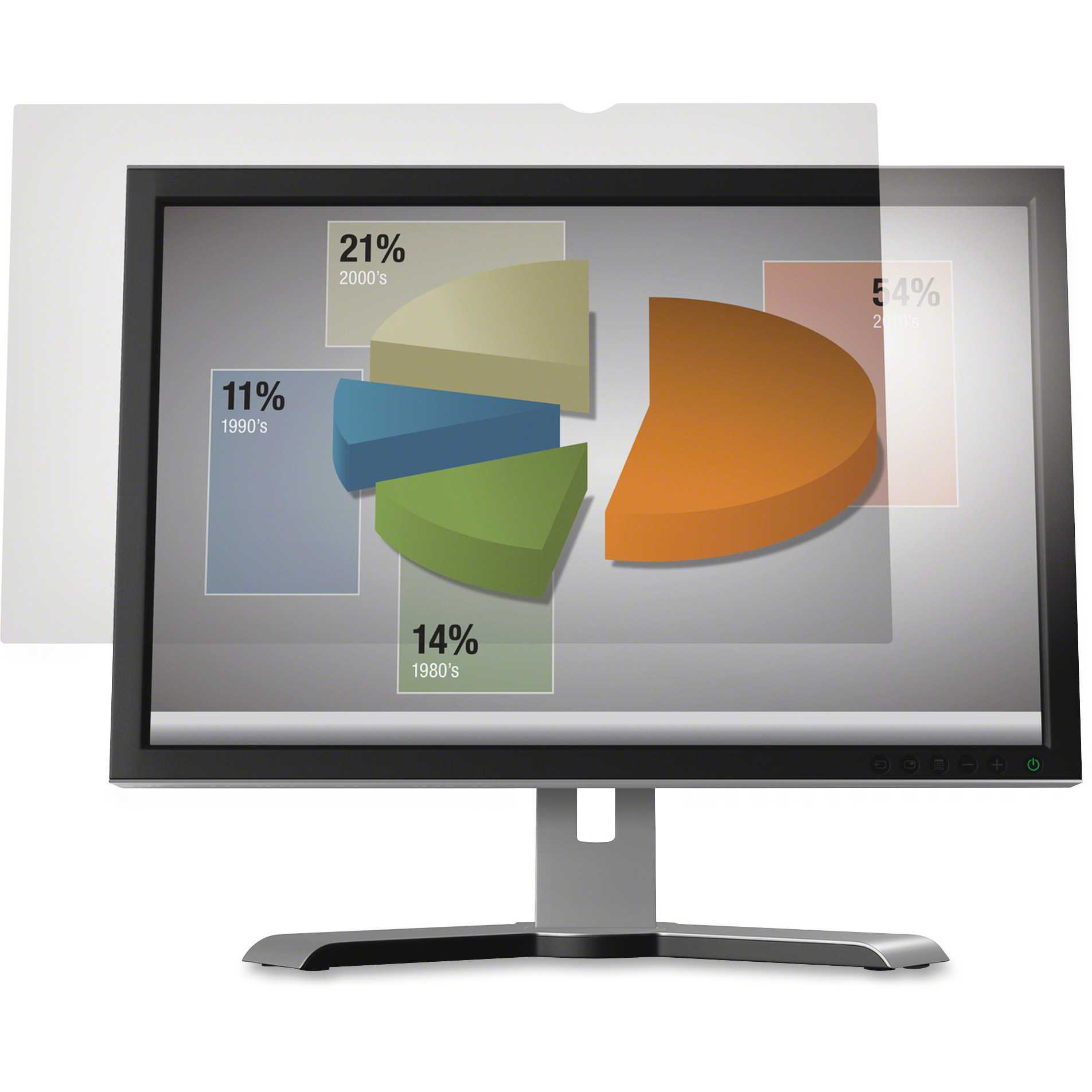 3M AG19.5W9 Anti-Glare Filter for Widescreen Desktop LCD Monitor 19.5'