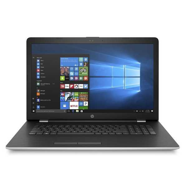 Refurbished - HP 17-BS005CY 17.3' Touch Laptop Intel Core i3-7100U 2.4GHz 8GB 2TB Windows 10
