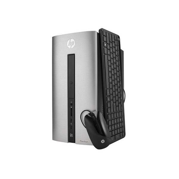Refurbished - HP Pavilion 550-a114 Desktop AMD A8-6410 2GHz 8GB DDR3 1TB HDD WiFi Win 10 Home